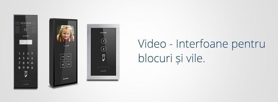 Videointerfoane Electra pentru blocuri si vile