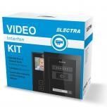 KIT Videointerfon pentru 1 Familie - Negru KIT.VPE.1FB